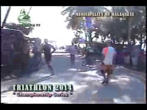 Municipality of Dalaguete - Triathlon Team Championship Series2014  Leg 1