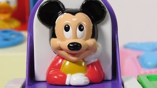 Pop-Up Pals Baby Mickey Pluto Minnie Donald & Goofy Disney Toys Pals for Babies, Girls and Kids