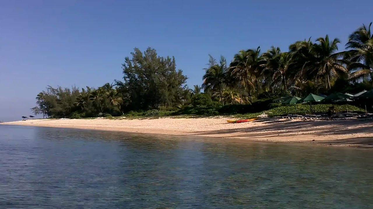 La saline les bains r union vue de la plage et du for Salin les bains