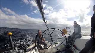 Rolex Fastnet Race 2013 -  La Reponse on board story
