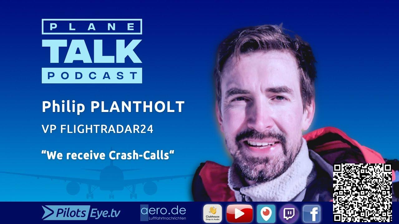 """Download planeTALK   Philip PLANTHOLT, VP Flightradar24 """"The Facebook of Aviation"""" (24 subtitle-languages)"""