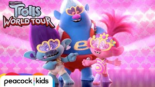 TROLLS WORLD TOUR | Pop Music Medley Full Scene [Official Clip]
