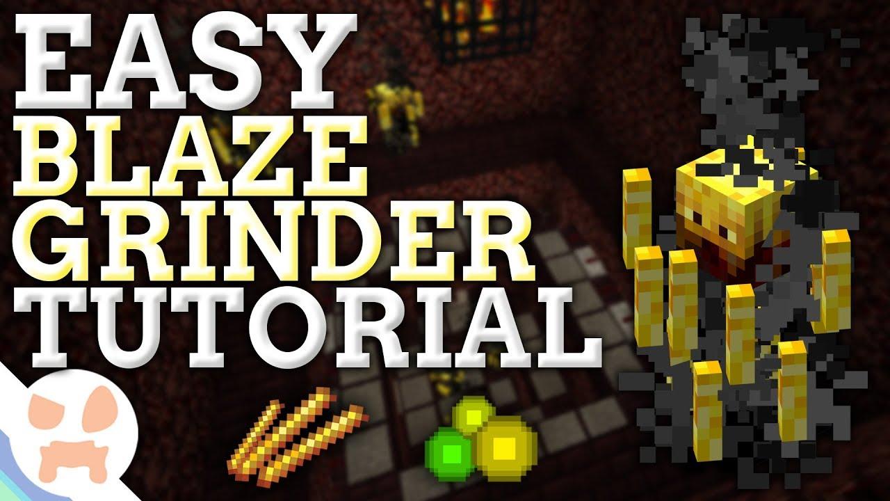 EASY Blaze Farm 1.12.2 Tutorial   ALL PLATFORMS , CHEAP ...