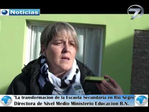 Resultado de imagen para directora de Educación Secundaria del Ministerio de Educación y Derechos Humanos de Río Negro, Gabriela Lerzo