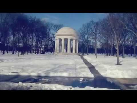 Washington DC  snowstorm cleanup