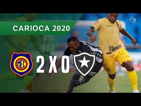 MADUREIRA 2 X 0 BOTAFOGO - GOLS - 21/01 - CAMPEONATO CARIOCA 2020
