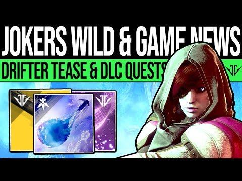 Destiny 2 | JOKERS WILD DLC & CONTENT UPDATES! New Gambit, Drifter Quests, DLC Fixes & Curse Cycle! thumbnail