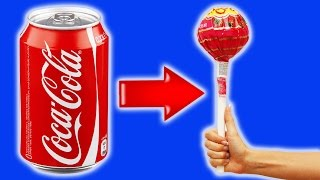 Food hacks | How to make Homemade Chupa Chups from Coca-Cola | DIY