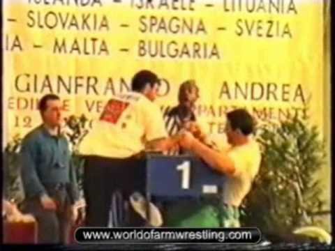 1996 European Armwrestling Championship, Italy - Part 2/2
