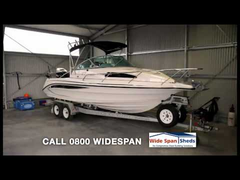 Wide Span Sheds NZ - TV Commercial