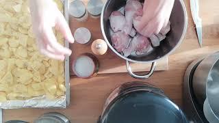 Вкусно и быстро I Картофель с курицей в духовке IЭкономное праздничное меню