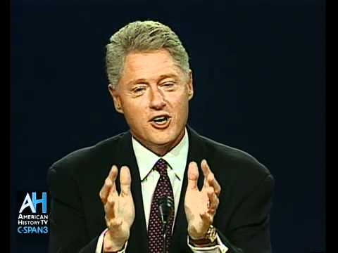 1996 Presidential Debate: Bill Clinton vs. Bob Dole