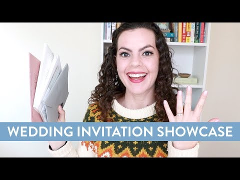 WEDDING INVITATION SHOWCASE | Etsy Designers, Shine & Minted First Impressions