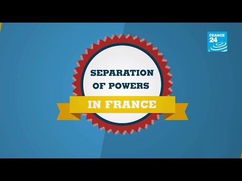 The separation of powers in France - #POSTERS