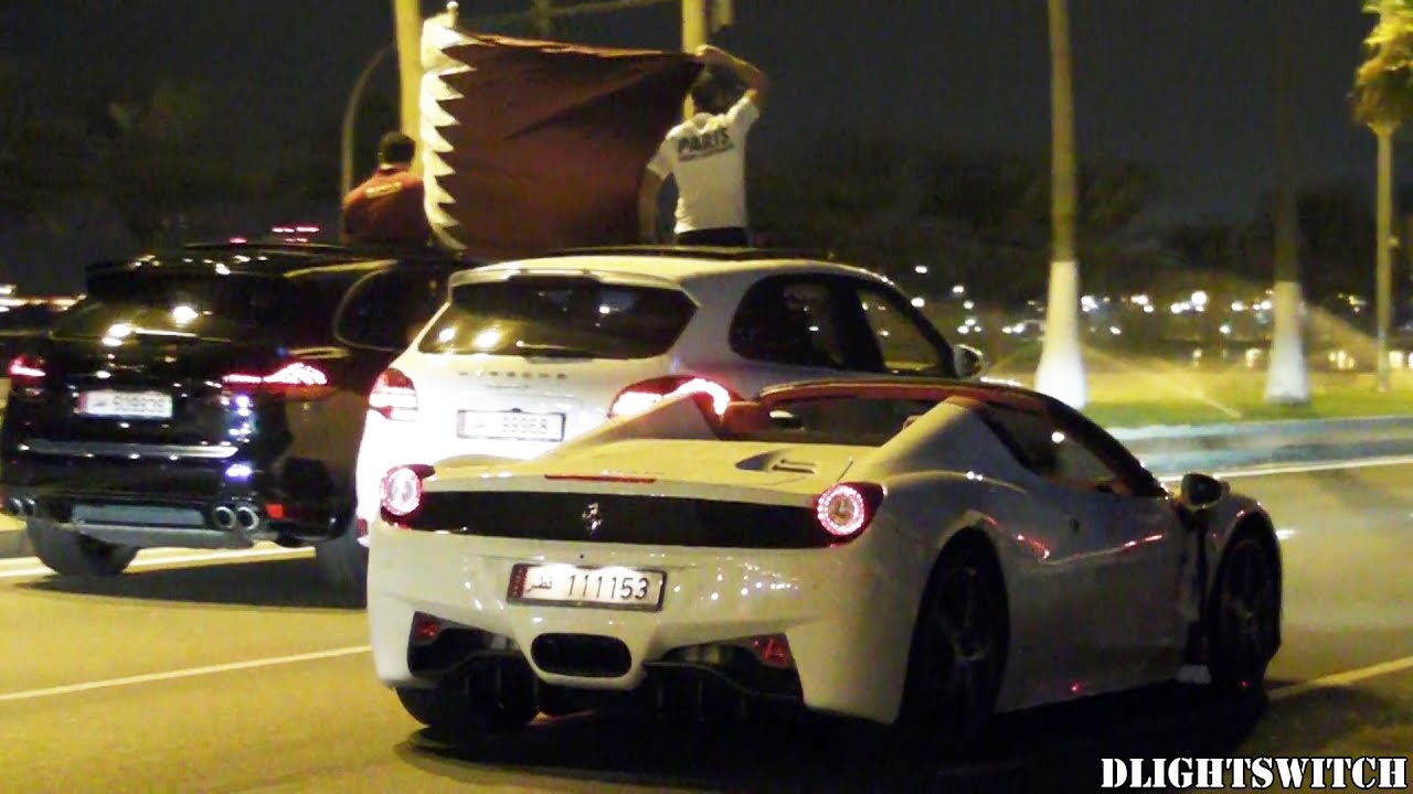 Supercars Celebrating Qatar S Gulf Cup Victory Youtube