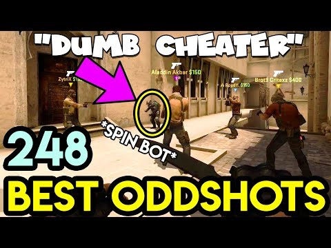 TELEPORT CHEATER got caught ! - CS:GO BEST ODDSHOTS #248 (+giveaway)