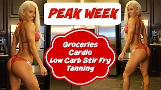 PEAK WEEK: Groceries, Cardio, & That Low Carb Life. | NPC Prep 14