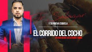 """Jr Salazar  - """"El Cocho"""" - En vivo ( Twins Studios) - (Video Lyrics)"""