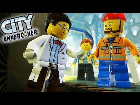 Lego City Undercover Game | THE SPACE STATION! | Lego City Undercover HD Gameplay - Chapter 7