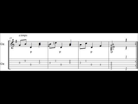 Aguado   Waltz in G