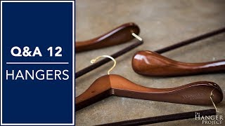 Wooden Clothes Hangers, Closet Organization, And More - Q&A 12 | Kirby Allison