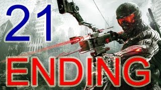 "Crysis 3 Walkthrough - ENDING HD + Final Boss + After credits ENDING ""Crysis 3 ending"" part 21"