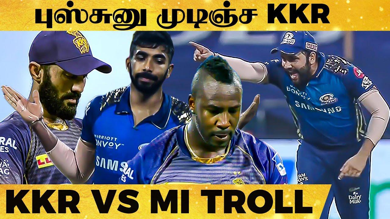 RUSSELL-யே உடைத்து  எறிந்த BUMRAH   முக்கிய திருப்பங்கள் நிறைந்த Higlights   KKR vs MI   IPL