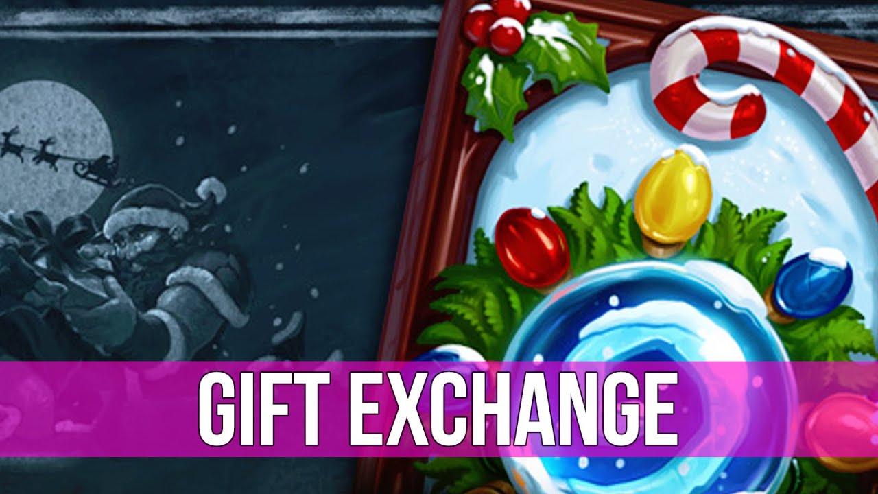 Hearthstone: Tavern Brawl - Gift Exchange! - YouTube