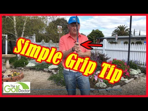 A Quick And Simple Golf Grip Tip