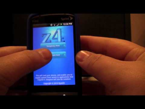 How to root a Sprint HTC Hero **EASY**