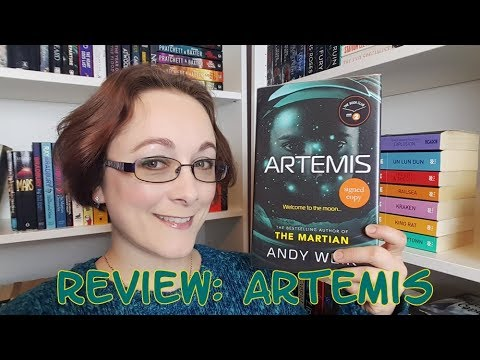 Book Review #98 - Artemis by Andy Weir