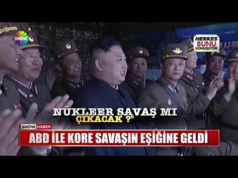 ABD ve Kore savaşın eşiğine geldi