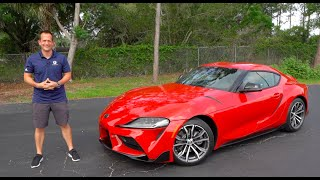 Is the 2021 Toyota Supra 2.0 4-cylinder turbo FAST enough?