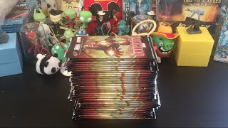CHATTING ABOUT LIFE in our FINAL Iron Man 3 Movie Trading Cards Opening Part 5