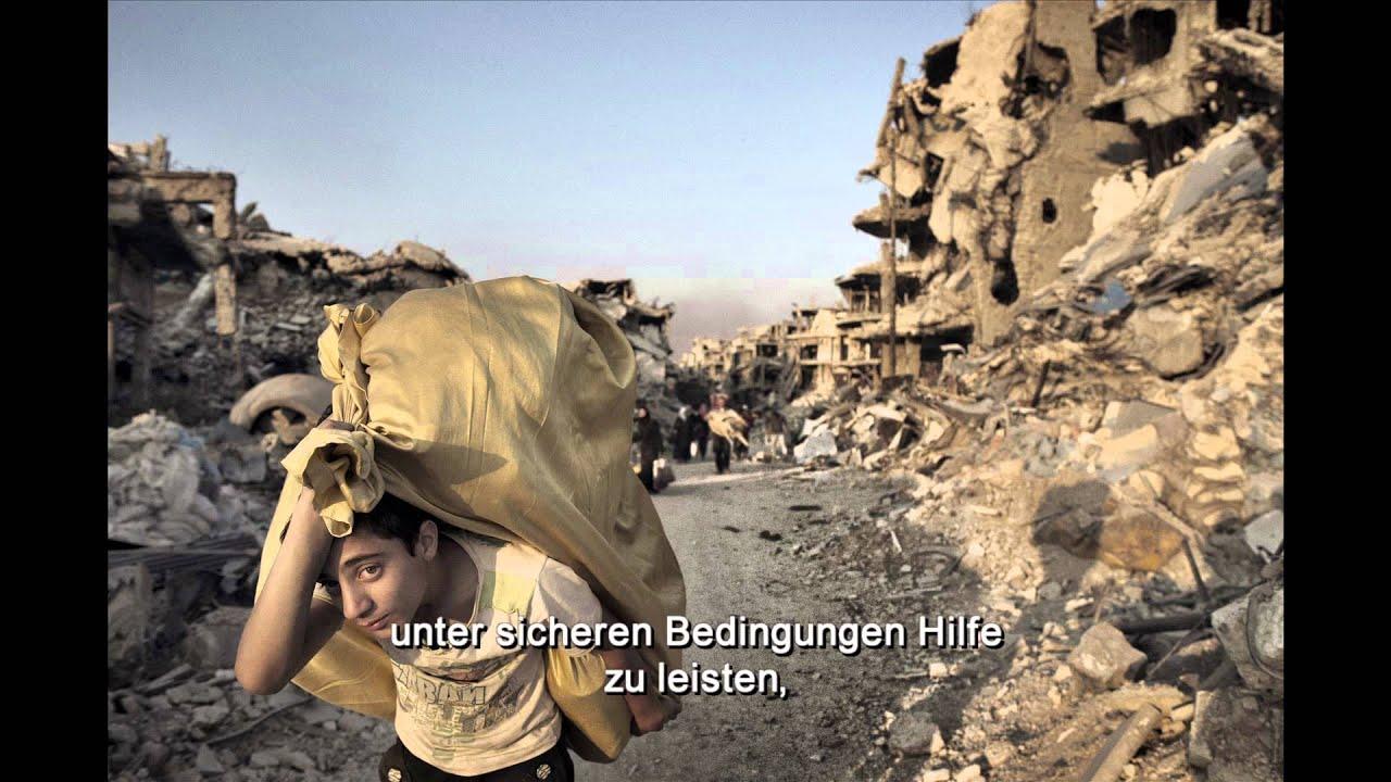 Die Tragweite des Krieges - Ein Tag im Syrien-Konflikt ...