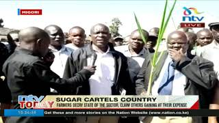 Sugar farmers in Migori claim others are gaining from the trade at their expense