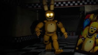 DONT LET THIS ANIMATRONIC FIND YOU...(NEW) | FNAF Those Nights at Fredbear's Reboot