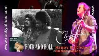 BUDDY MILES and ROCKY ATHAS - ROCK AND ROLL the Blues