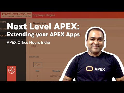 Next Level APEX - Exploring Exciting Ways To Extend Your APEX Apps