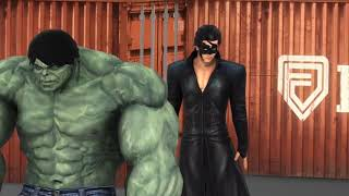 Krrish 4 Vs Hulk Fanmade Movie ( part - 1 )