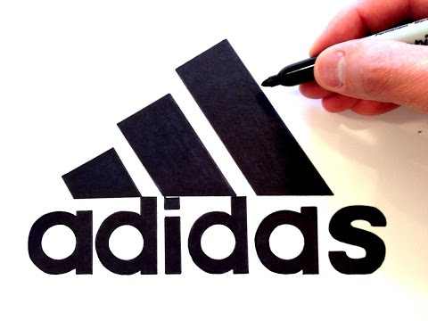 How to draw the Adidas Logo - Best on Youtube - YouTube
