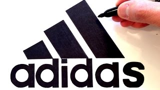 Video How to draw the Adidas Logo - Best on Youtube download MP3, 3GP, MP4, WEBM, AVI, FLV Juni 2018