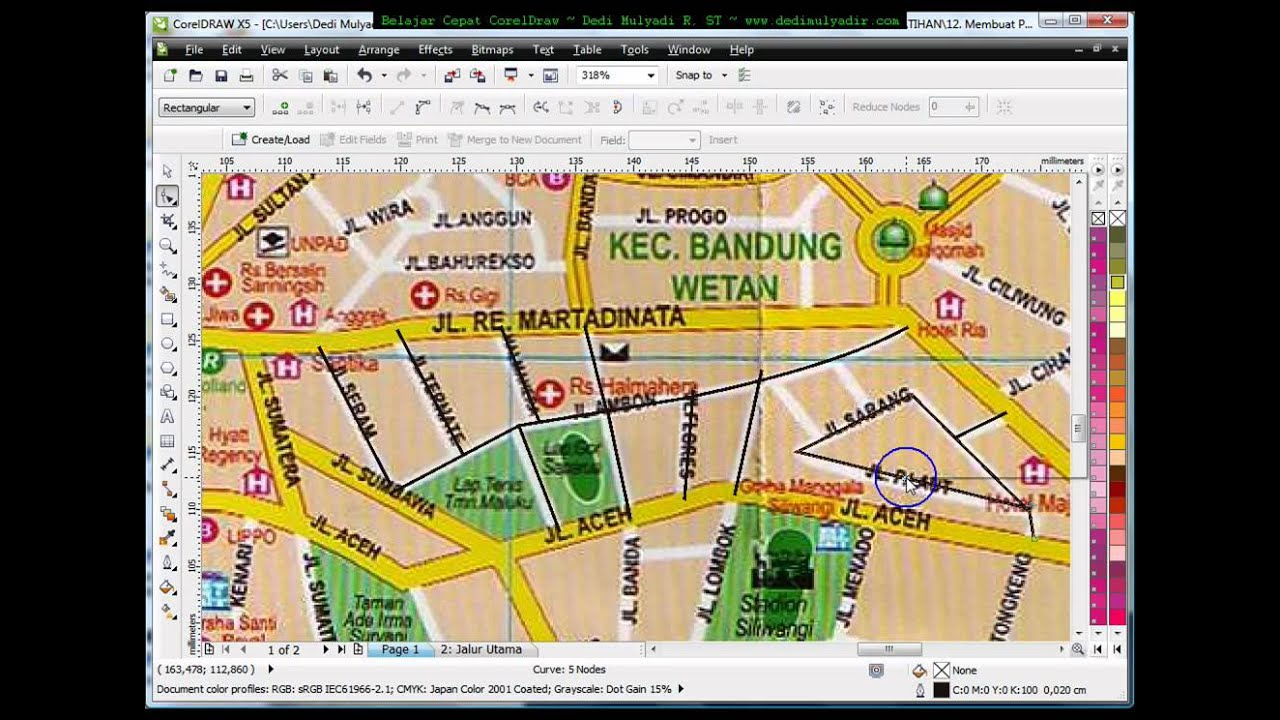 How to make map in corel draw tutorial corel draw tips and trick how to make map in corel draw tutorial corel draw tips and trick mastering corel draw gumiabroncs Images