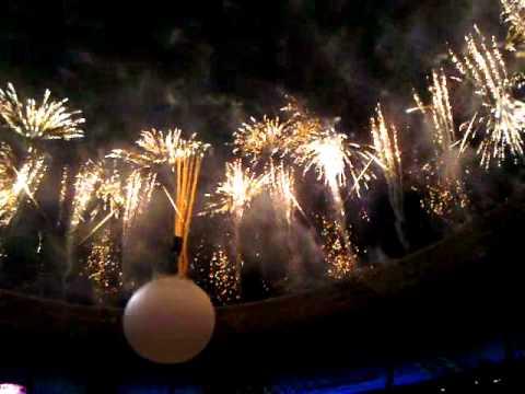 FC Shakhtar 75, Donbass Arena, Donetsk. Fireworks