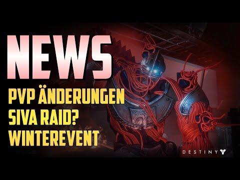 Destiny 2 : PvP Änderungen | Schneller auf 600 | Winter Event | Siva Raid? | NEWS DEUTSCH