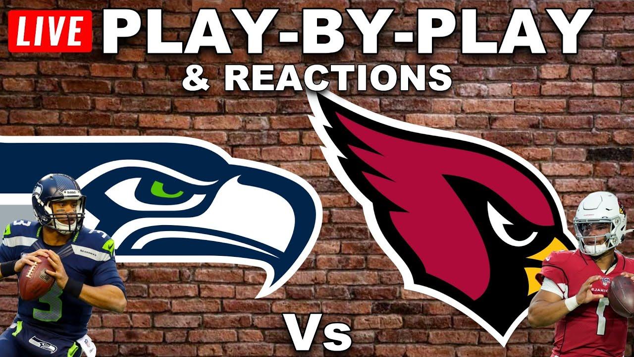 Seattle Seahawks vs Arizona Cardinals Live Play-By-Play