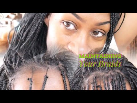 When To Take Out Braids For Touch Up Part1