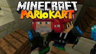 Minecraft | EN LO MÁS ALTO!! | Minijuego MARIO KART