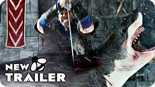 The Last Sharknado: It's About Time Trailer (2018) Action Horror Movie