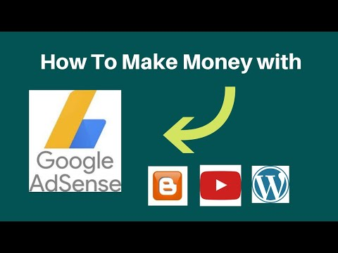 How To Make Money with Google Adsense  RD Tech Channel